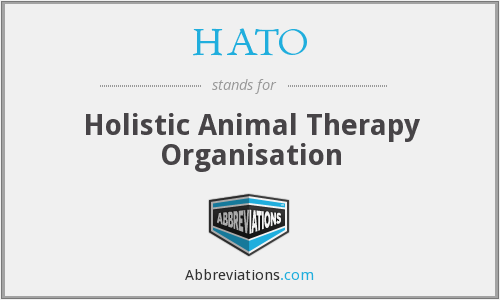 What does HATO stand for?
