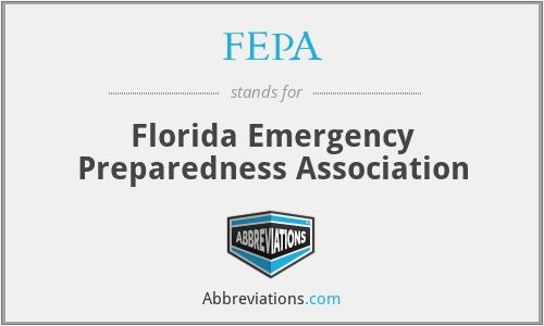 FEPA - Florida Emergency Preparedness Association