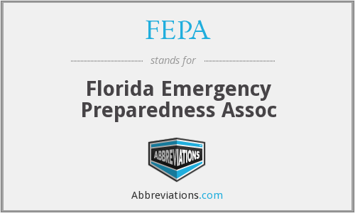 FEPA - Florida Emergency Preparedness Assoc