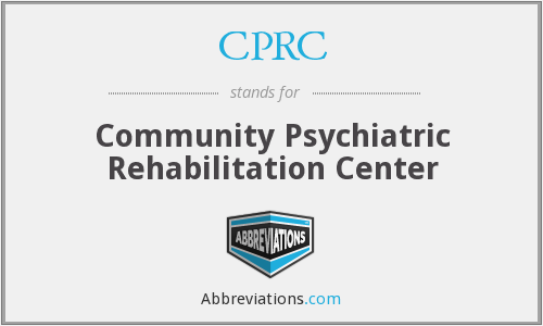 CPRC - Community Psychiatric Rehabilitation Center