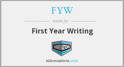 What does FYW stand for?