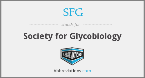 SFG - Society for Glycobiology