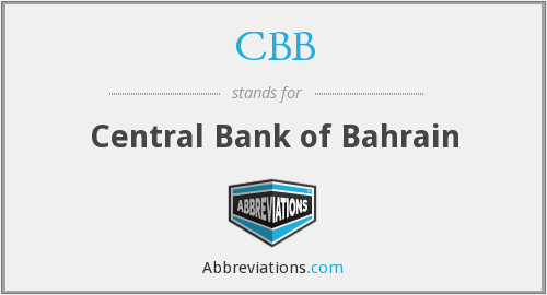 CBB - Central Bank of Bahrain