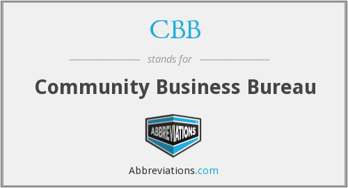 CBB - Community Business Bureau