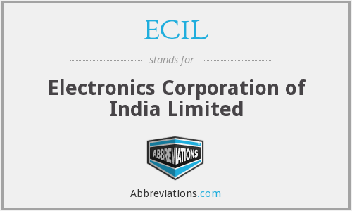 What does ECIL stand for?
