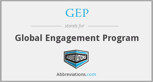 GEP - Global Engagement Program