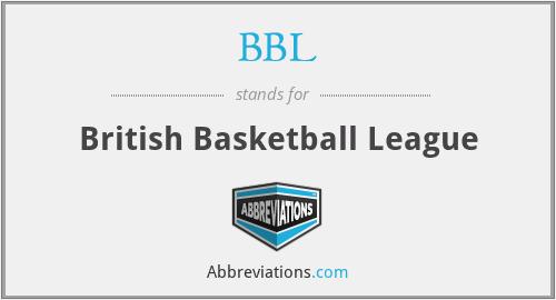 BBL - British Basketball League