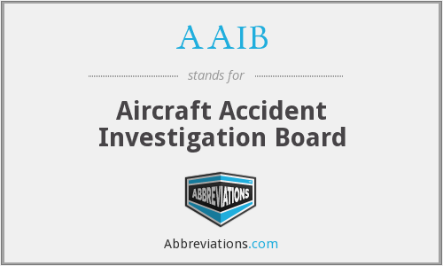 AAIB - Aircraft Accident Investigation Board