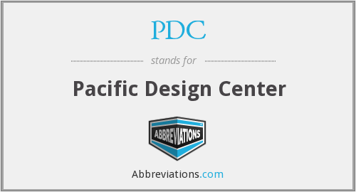 PDC - Pacific Design Center