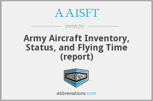 What does AAISFT stand for?
