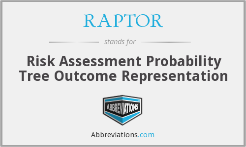 RAPTOR - Risk Assessment Probability Tree Outcome Representation