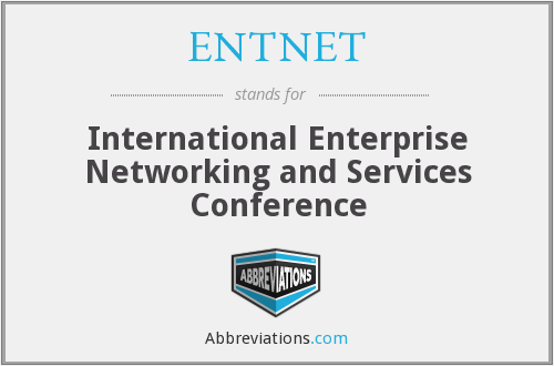 What does ENTNET stand for?