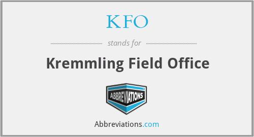 KFO - Kremmling Field Office