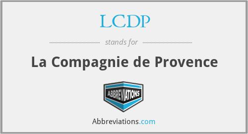 LCDP - La Compagnie de Provence