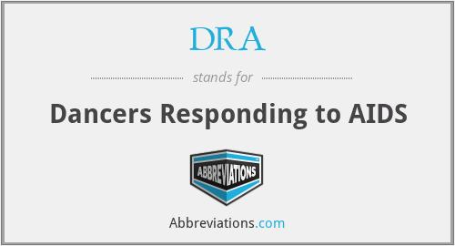DRA - Dancers Responding to AIDS
