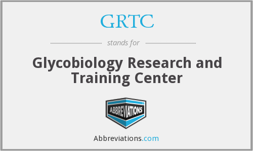GRTC - Glycobiology Research and Training Center