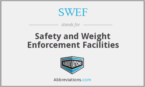 What does SWEF stand for?