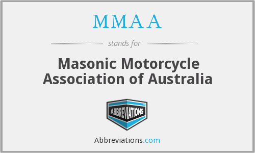 MMAA - Masonic Motorcycle Association of Australia