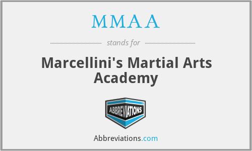 MMAA - Marcellini's Martial Arts Academy