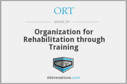 ORT - Organization for Rehabilitation through