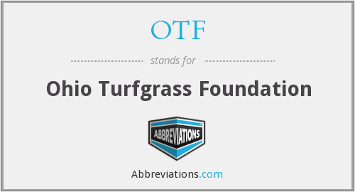 OTF - Ohio Turfgrass Foundation