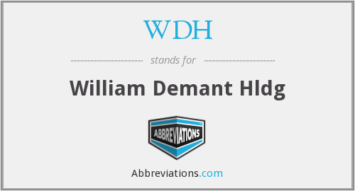 WDH - William Demant Hldg