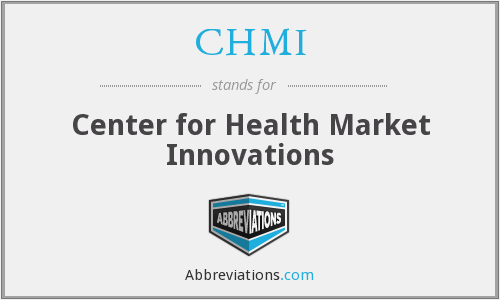 What does CHMI stand for?