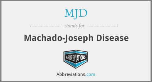 MJD - Machado-Joseph Disease