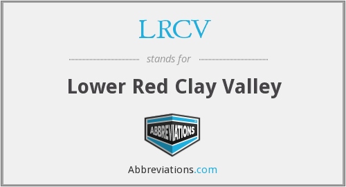 LRCV - Lower Red Clay Valley