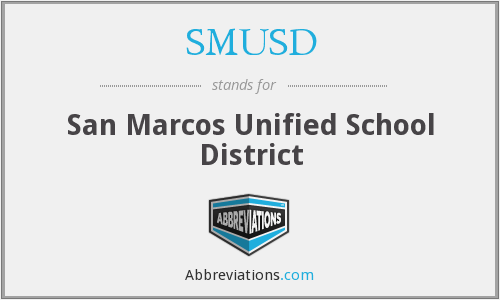 What does SMUSD stand for?