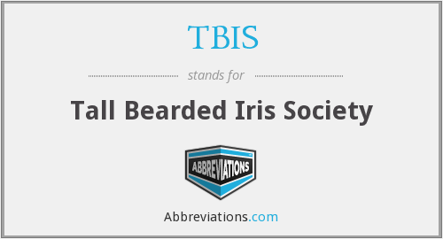 What does TBIS stand for?