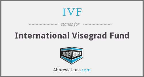 IVF - International Visegrad Fund