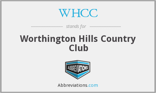 WHCC - Worthington Hills Country Club