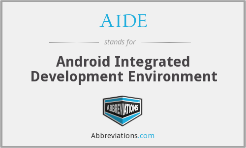 AIDE - Android Integrated Development Environment