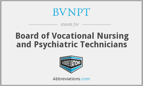 What does BVNPT stand for?