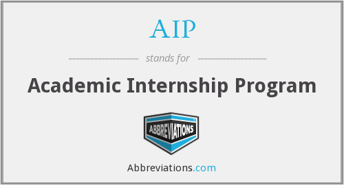 AIP - Academic Internship Program
