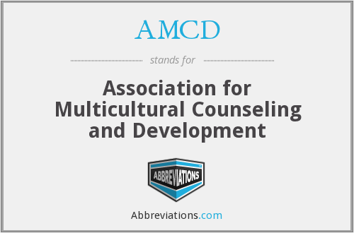 AMCD - Association for Multicultural Counseling and Development