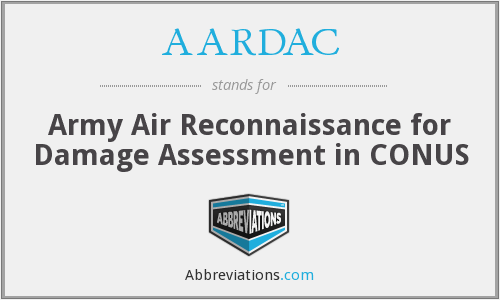 What does AARDAC stand for?