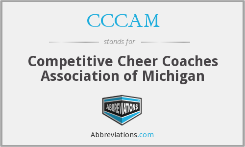 CCCAM - Competitive Cheer Coaches Association of Michigan