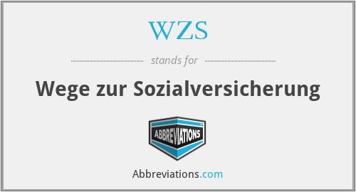 WZS - Wege zur Sozialversicherung