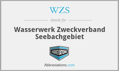 WZS - Wasserwerk Zweckverband Seebachgebiet