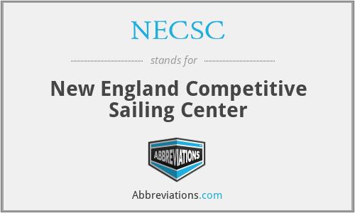NECSC - New England Competitive Sailing Center