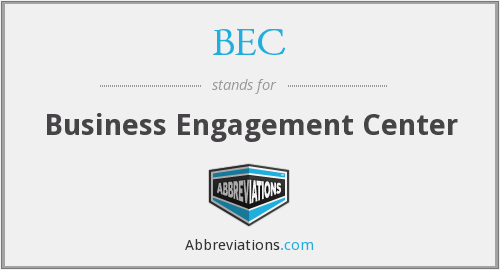 BEC - Business Engagement Center