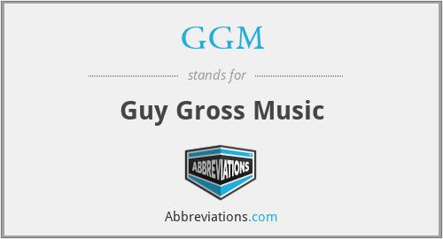 GGM - Guy Gross Music