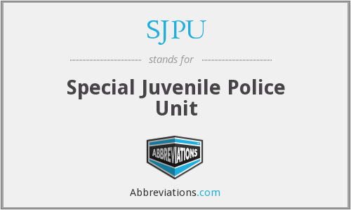 What does SJPU stand for?