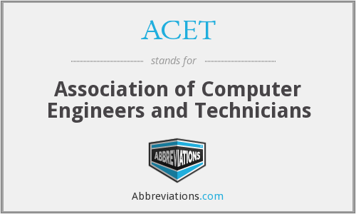 ACET - Association of Computer Engineers and Technicians