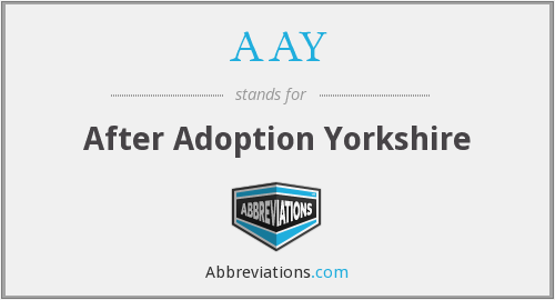AAY - After Adoption Yorkshire