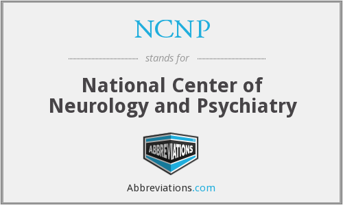 What does NCNP stand for?