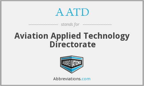 AATD - Aviation Applied Technology Directorate