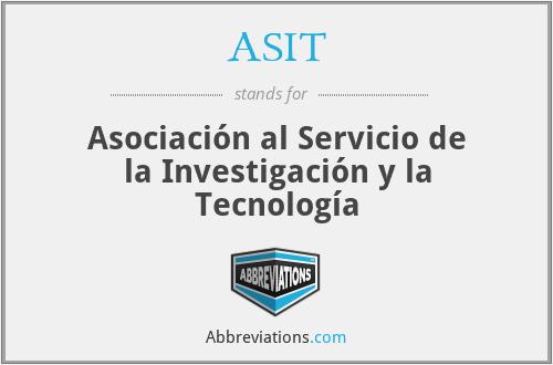 ASIT - Asociación al Servicio de la Investigación y la Tecnología